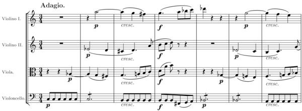 L volution de la musique classique continuit et fracture - Fracture main coup de poing ...